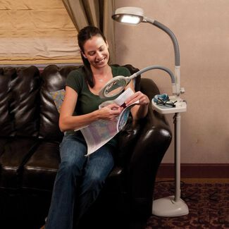 Magnifier Accessory for Original and EasyFlex Floor Lamps